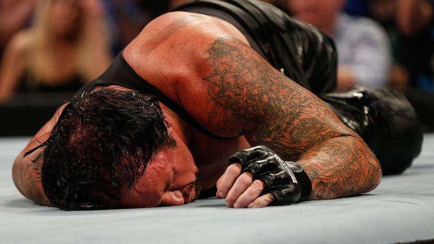 Der Undertaker beim WWE Summerlam im Barclays Center, New York