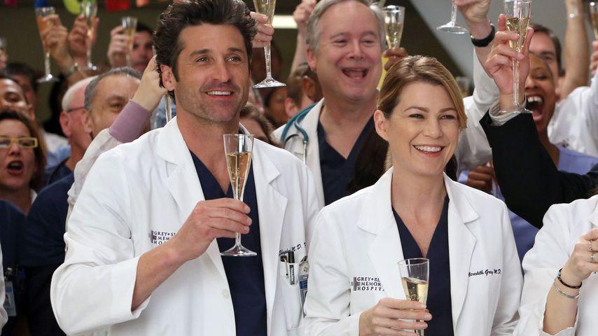 """Patrick Dempsey und Ellen Pompeo bei """"Grey's Anatomy"""""""
