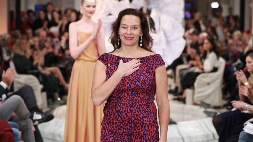 Designerin Anja Gockel bei der Berlin Fashion Week 2019