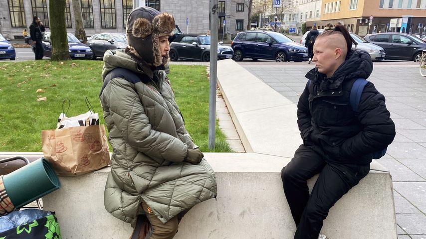 "Désirée Nick in dem TV-Format ""Prominent und obdachlos"""