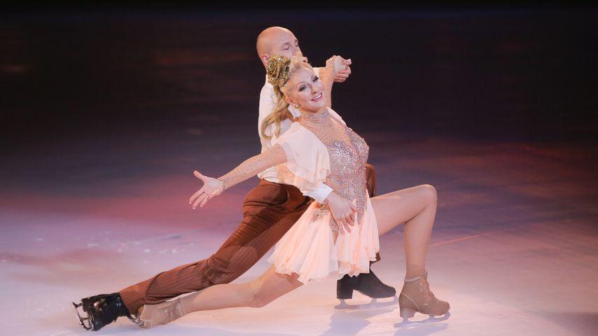 "Désirée Nick und Alexander Gazsi bei ""Dancing on Ice"""