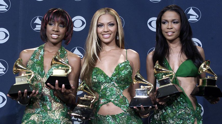 Destiny's Child bei der Grammy-Verleihung im Jahr 2001