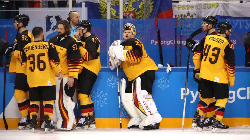 Deutsche Eishockey-Mannschaft in Pyeongchang  2018