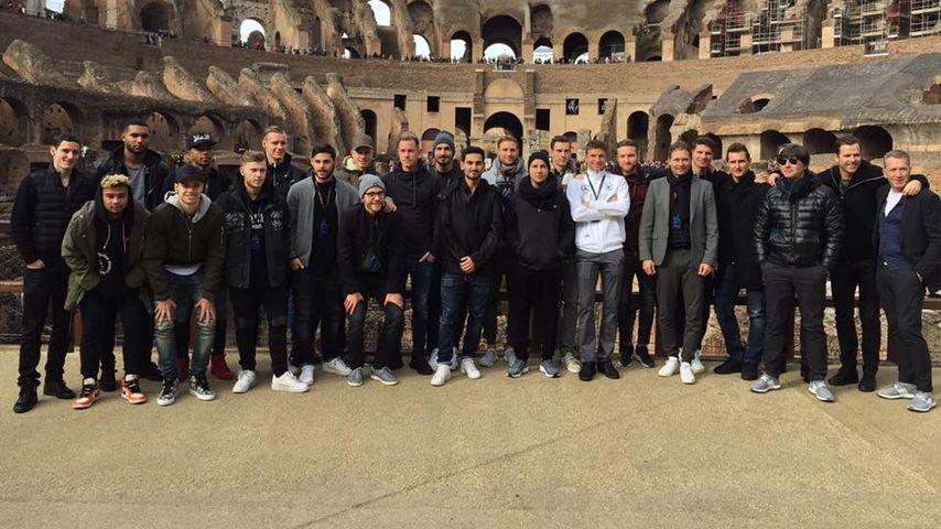 Deutsche Nationalmannschaft in Rom
