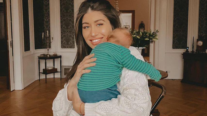 Drei Wochen alt: Diana June verzaubert mit neuem Babyfoto!