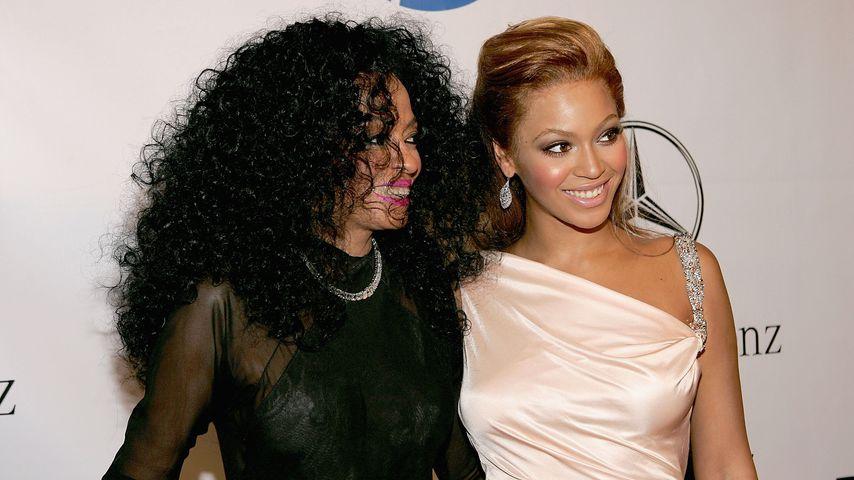 Diana Ross und Beyoncé Knowles