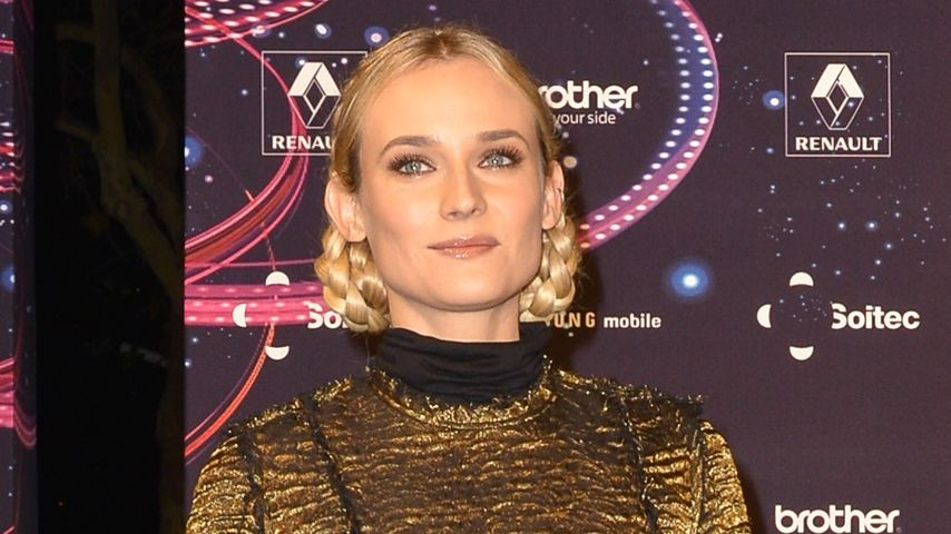 "Spacy: Diane Kruger im ""Star Trek""-Gedenklook"