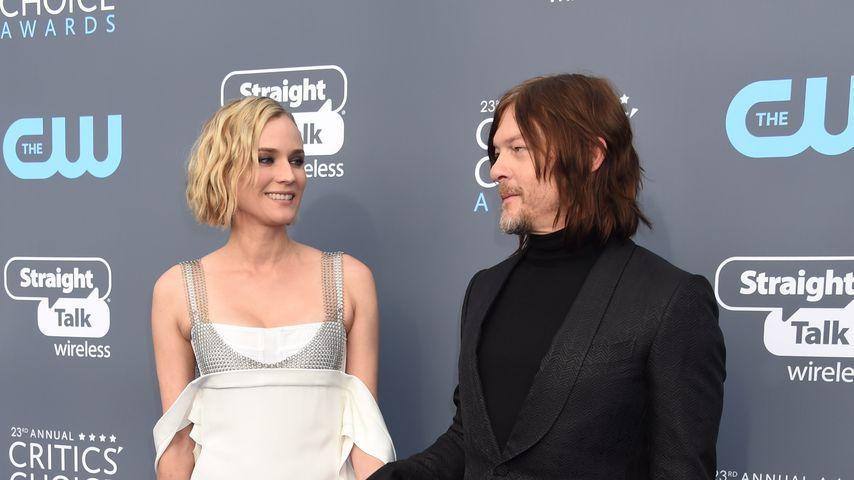 Diane Kruger und Norman Reedus bei den Critics' Choice Awards
