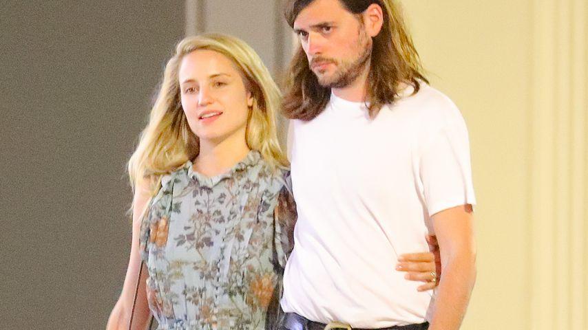 Dianna Agron und Winston Marshall in New York