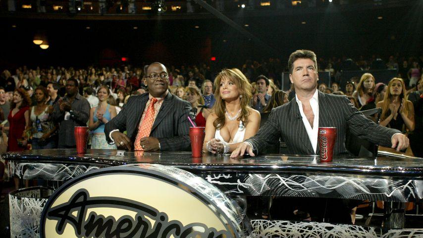 Simon Cowell, Randy Jackson und Paula Abdul
