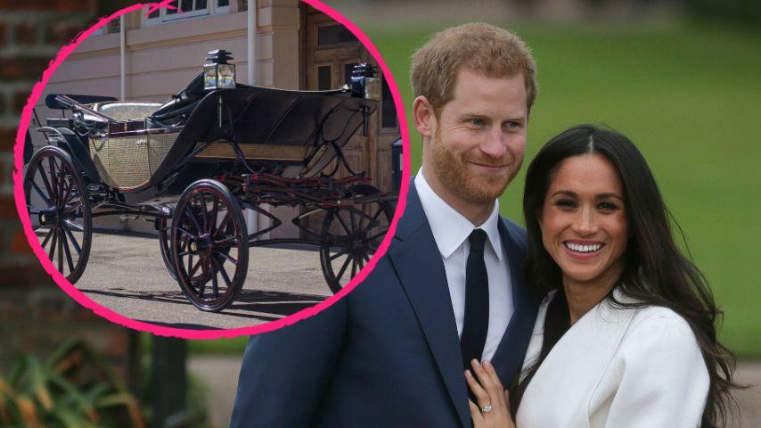 Romantisch: Harry & Meghans Hochzeitskutsche ist ausgewählt!