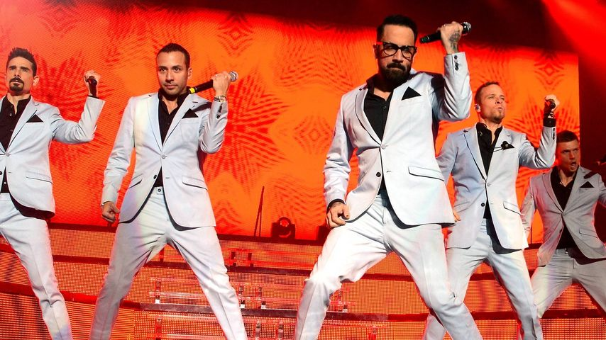 Die Backstreet Boys auf ihrer Tour 2014 in Dublin