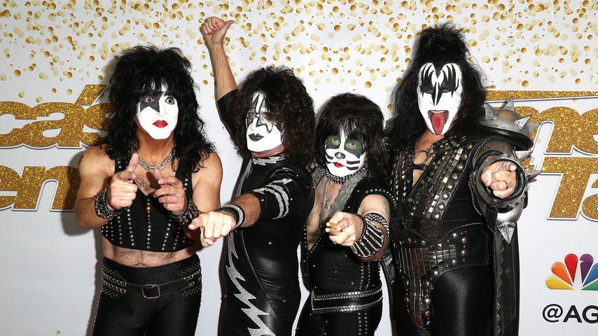 "Die Band Kiss bei ""America's got Talent"" 2018"