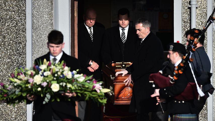 Die Beerdigung von Dolores O'Riordan in Limerick