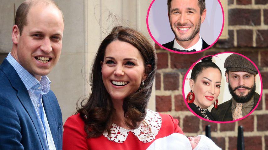 Kate & Williams Royal-Spross: Promis raten den Babynamen!