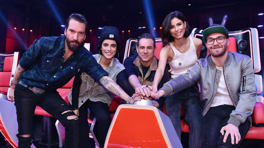 "Die Coaches von ""The Voice Kids"" 2019"