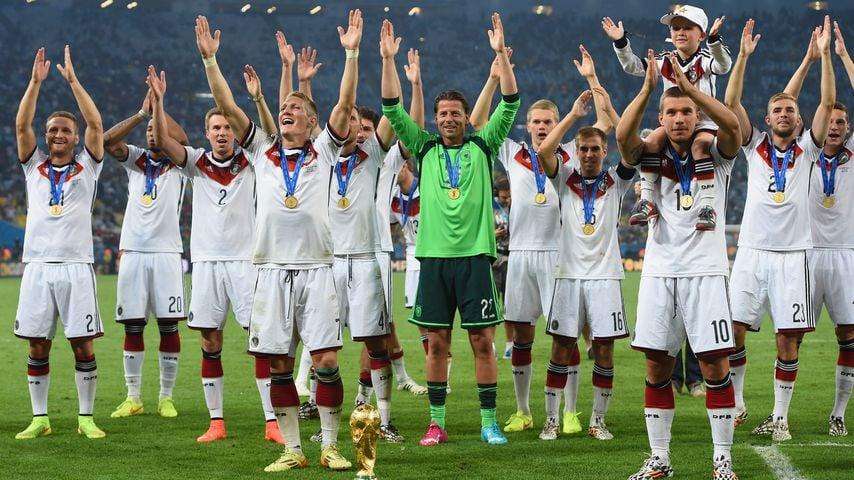 Die deutsche Nationalmannschaft bei der WM 2014 in Brasilien