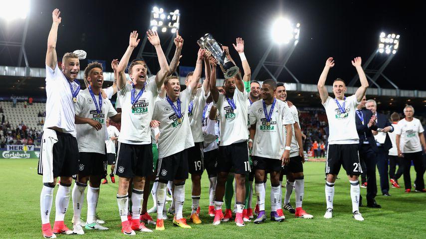 Riesen-Fiesta gegen Spanien: Deutsche U21 ist EUROPAMEISTER!