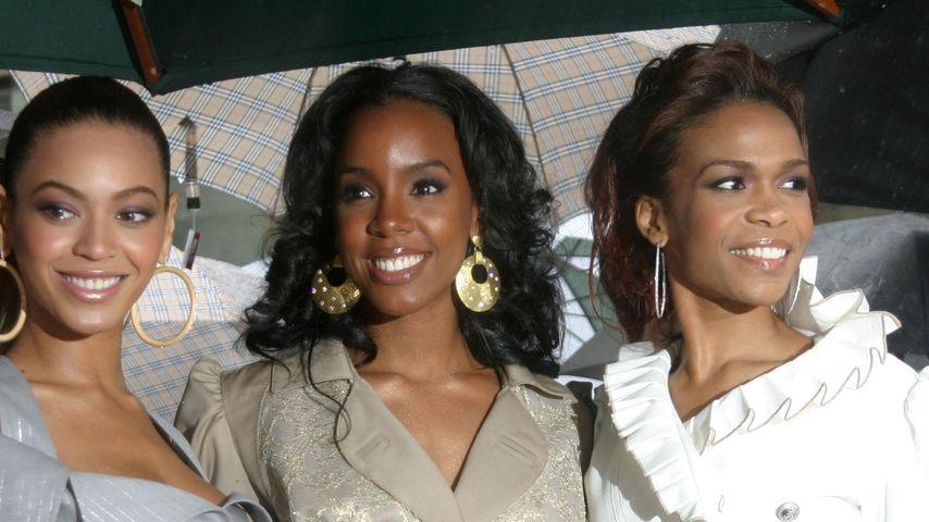 Erfolgsband Destiny's Child, bestehend aus Beyoncé, Kelly Rowland und Tenitra Michelle Williams