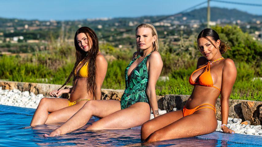 """Die drei neuen """"Love Island""""-Granaten Jennifer, Franziska und Angelina"""