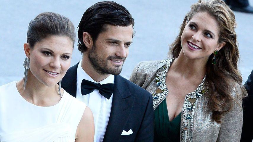 1. Baby: Victoria & Madeleine gratulieren Bruder Carl Philip