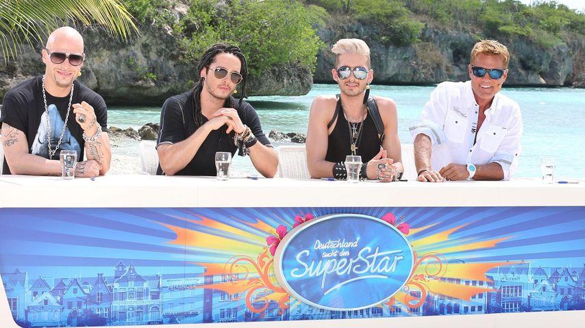 Bill Kaulitz, Dieter Bohlen und Tom Kaulitz