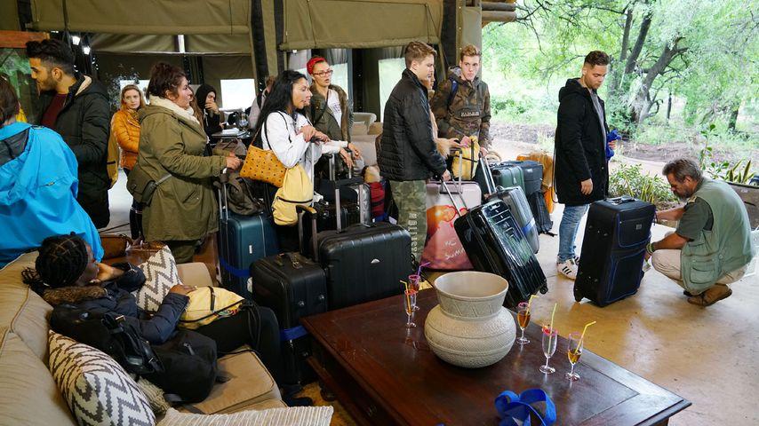 Die Ankunft der DSDS-Kandidaten in der Black Rhino Lodge