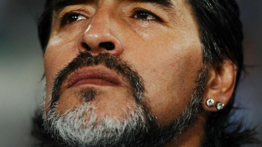 Die Fußballlegende Diego Maradona