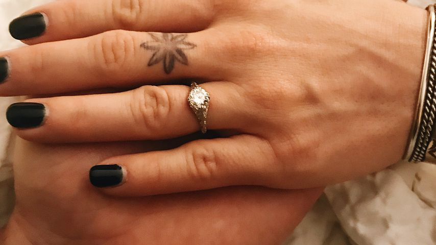Lux Wrights Verlobungsring