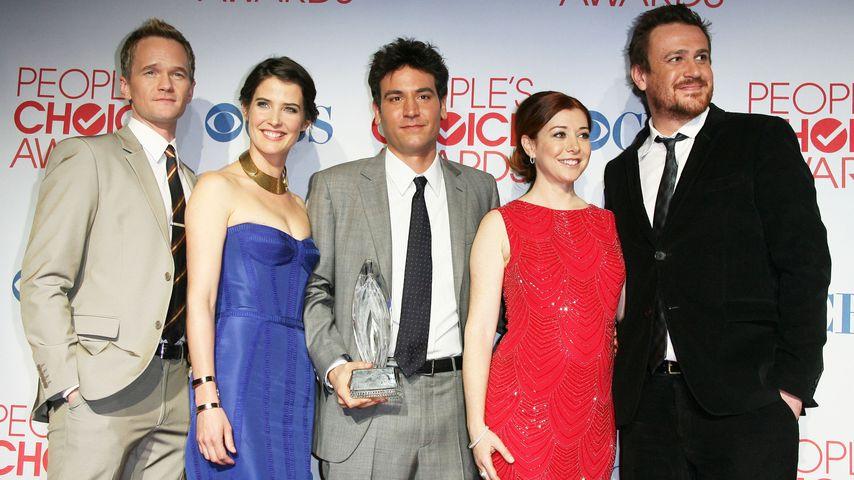 Neil Patrick Harris, Cobie Smulders, Josh Radnor, Alyson Hannigan und Jason Segel 2012 in LA