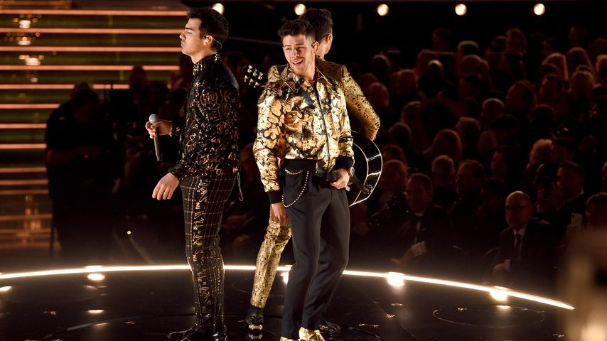 Der Auftritt der Jonas Brothers bei den Grammys in L.A. im Januar 2020