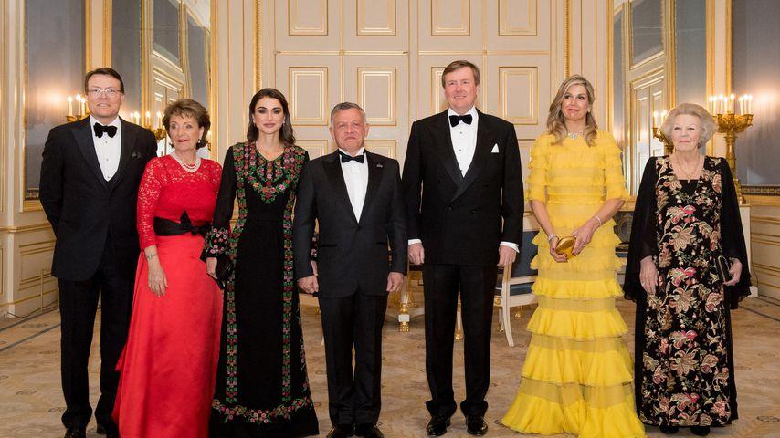 Staatsbesuch der jordanischen Royals in den Niederlanden