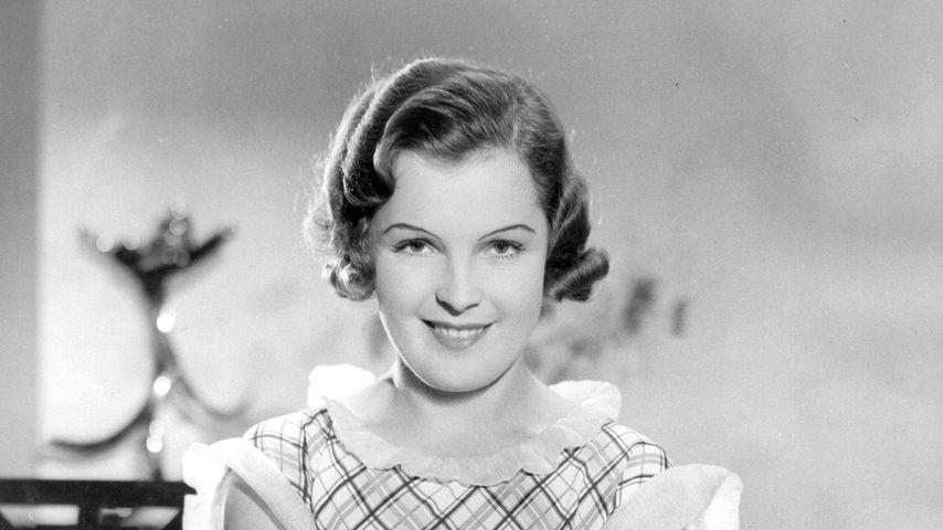 Schauspielerin Magda Schneider in den 40er Jahren