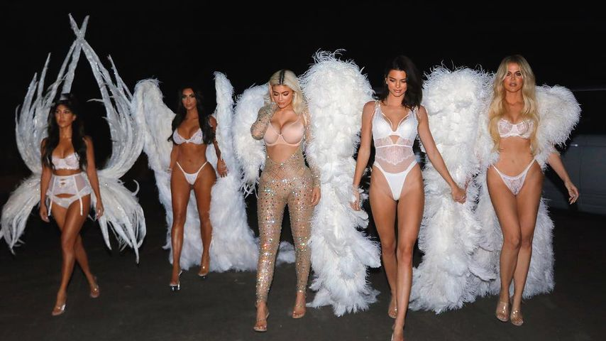 Sexy VS-Engel: So heiß feierten die Kardashians Halloween!