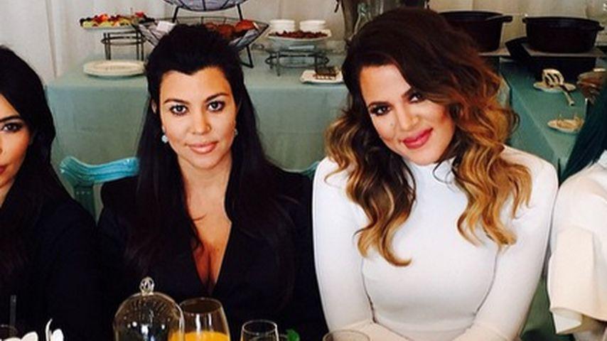 Khloe Kardashian, Kylie Jenner, Kim Kardashian und Kourtney Kardashian