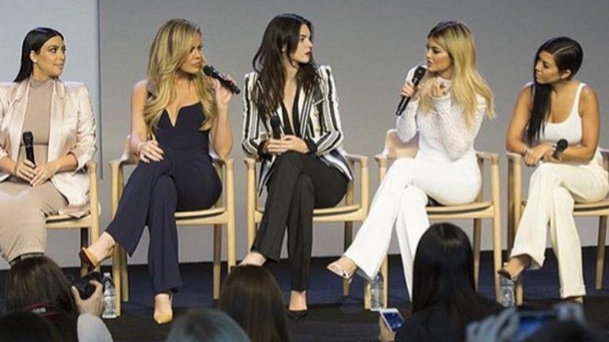 Khloe Kardashian, Kylie Jenner, Kim Kardashian, Kendall Jenner und Kourtney Kardashian