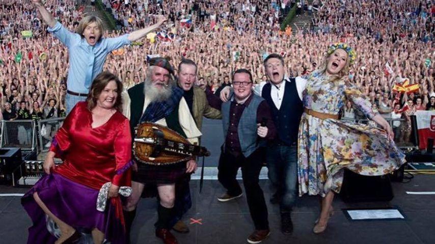 Die Kelly Family bei einem ihrer Comeback-Konzerte Anfang 2020
