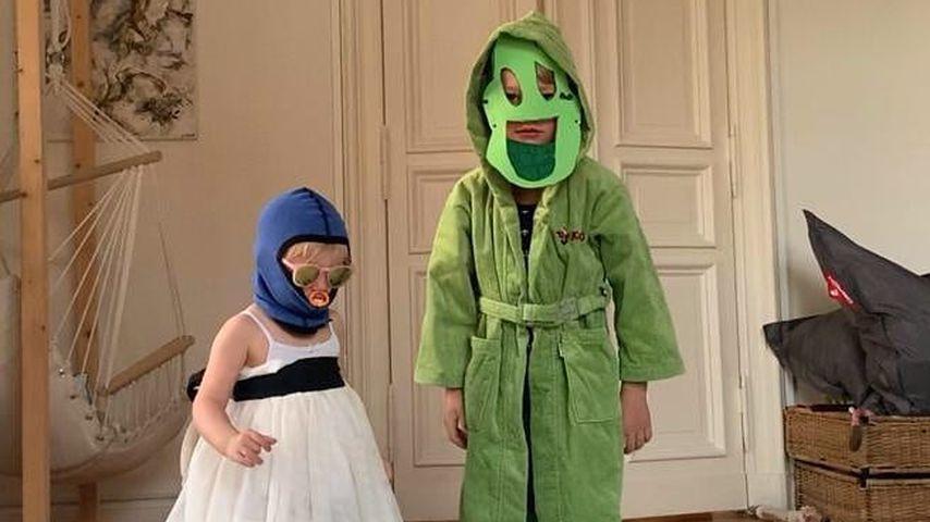 Daniel Fehlow und Jessica Ginkels Kinder