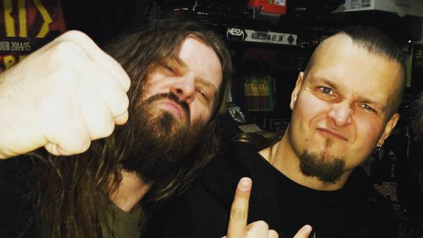 Die Mitglieder der Metal-Band Decapitated, Waclaw Kieltyka und Hubert Wiecek