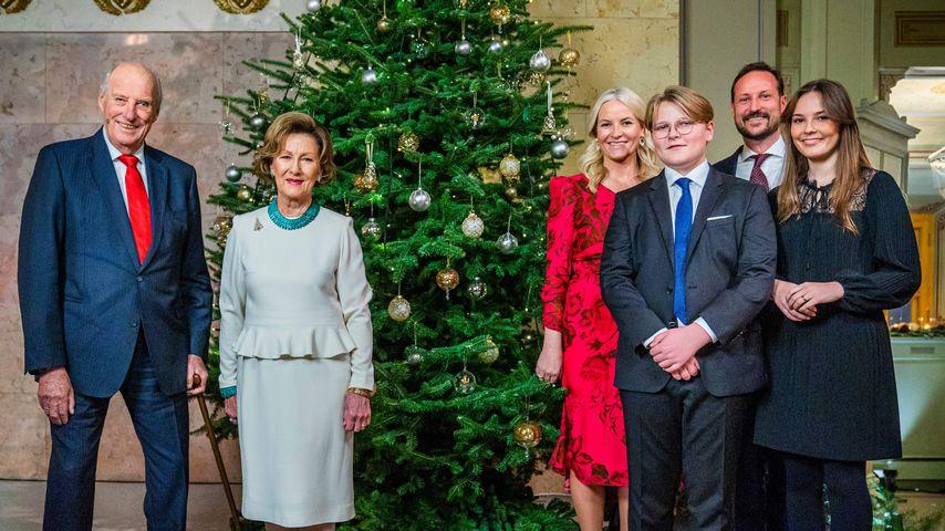 Die norwegische Königsfamilie im Dezember 2020