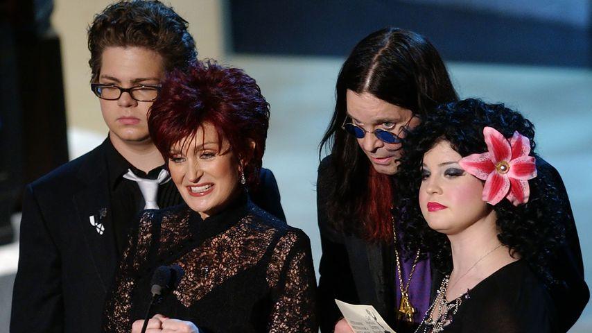 Die Osbournes bei den Emmy-Awards in Los Angeles 2002