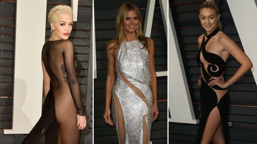 Ohne Slip! Ist das etwa der heißeste Oscar-Trend?
