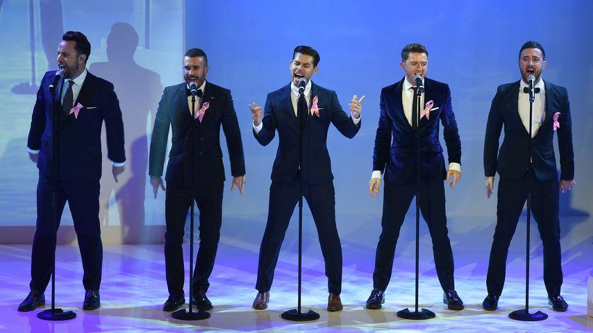 The Overtones auf der Bühne