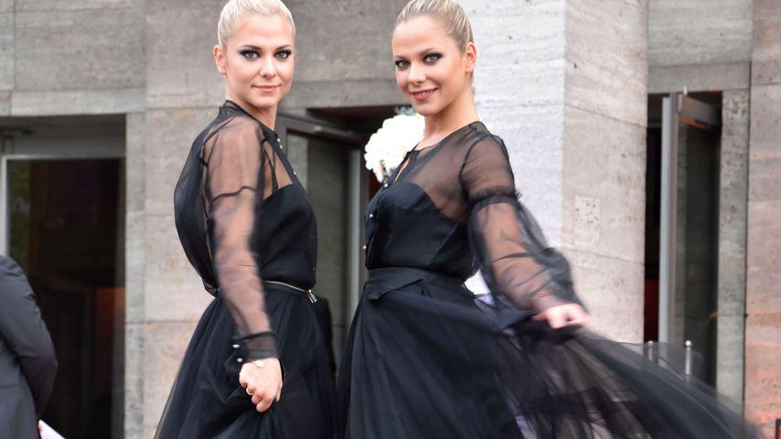 Die Pahde-Zwillinge beim UFA-Jubiläum