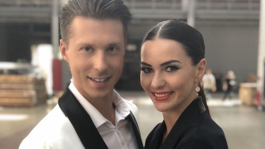 Die Profitänzer Valentin und Renata Lusin