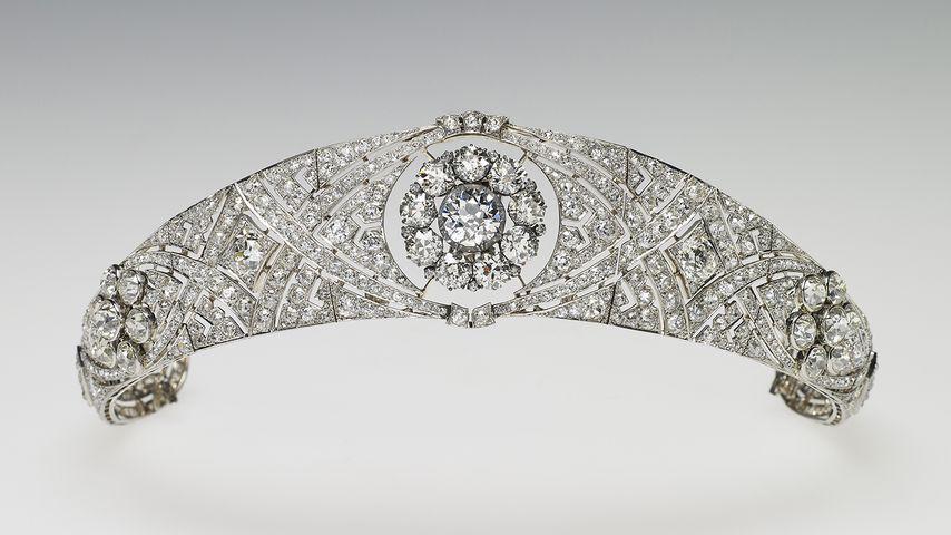 Die Queen Mary Diamond Bandeau Tiara