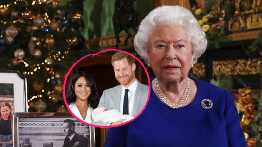 Weihnachtsrede der Queen: Seitenhieb gegen Meghan und Harry?