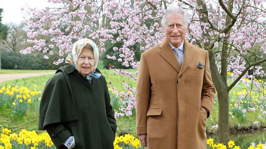 Die Queen und Prinz Charles