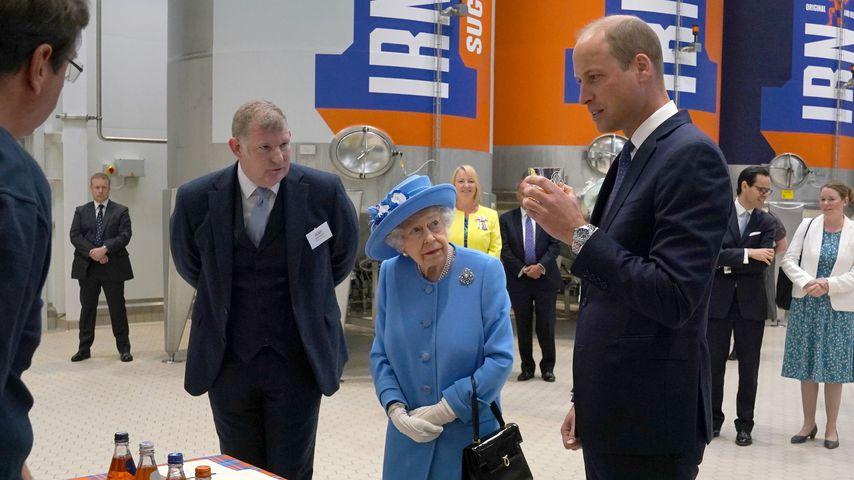 Die Queen und Prinz William, 2021