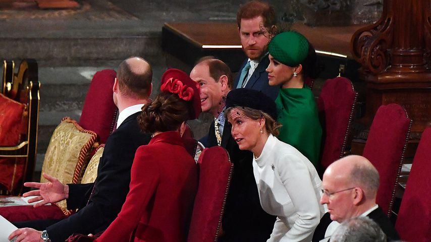 Keine Umarmungen: Meghan ist von der Royal Family enttäuscht
